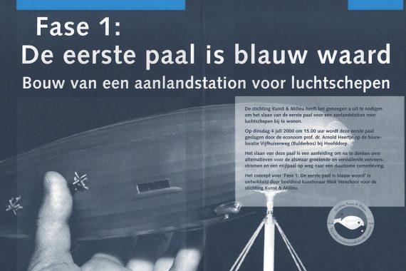 Fase 1: De eerste paal is blauw waard - © Niek Verschoor